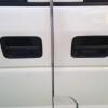 車のドアが閉まらない…。強風を受け壊れてしまった…。突風め!!